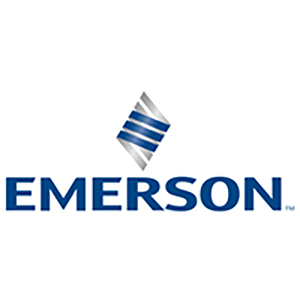 now a part of Emerson logo