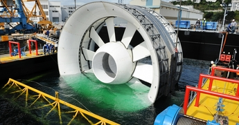 EDF and OpenHydro to install first tidal turbine in Brittany, France