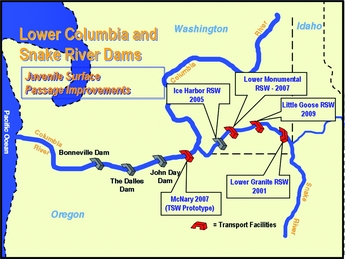 US River Map Map Of US Rivers Experience The Journey Of Lewis And - Us map columbia river
